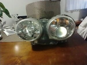 04-09 Jaguar XJ8 XJR VANDEN PLAS LEFT DRIVER HEADLIGHT XENON