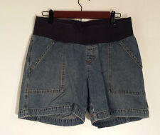 Duo Maternity Shorts Blue Stretch Women's Size Small