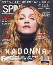 Spin Magazine April 1998 Madonna, Fatboy Slim w/ML VG 040416DBE