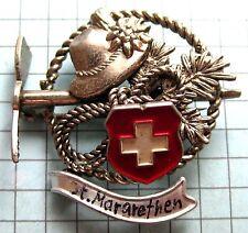 Anstecknadel Pin Hutanstecker c15 Sankt Margrethen Kanton St. Gallen Schweiz