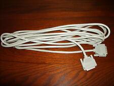 HP 25ft 30062-60022 001 Data Set Cable~DB25 to DB25~M/M~M to M~Modem~Grey~Rare