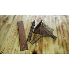 Russian Paddles Wollkämme Spinnrad harkle zum Wolle mischen und verspinnen