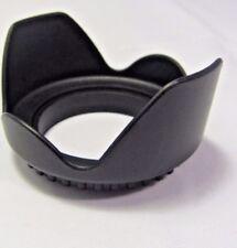 Plastic Flower Petal Shaped 52mm Lens Hood screw in type for 18-55mm zoom