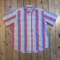 Duck Head Mens Short Sleeve Vintage Check Shirt XL