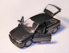 Opel Astra F GSi in grau grise grigio grey metallic, Gama in 1:43 DEALER BOXED!