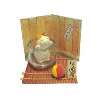 Diorama Gato Japonés Blanco 45mm Juego De Ballon Maneki Fabricado en Japón 40600