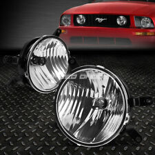 FOR 05-09 FORD MUSTANG GT CLEAR LENS BUMPER DRIVING FOG LIGHT REPLACEMENT LAMPS