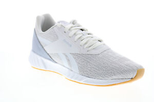 Reebok Lite Plus 2.0 FU8729 Mens Gray Canvas Lace Up Athletic Running Shoes