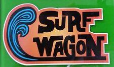 New listing Surf Wagon Vinyl Sticker Decal Longboard Surfing Surfboard Rat Fink Surf Vw Left