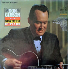 DON GIBSON - WITH SPANISH GUITARS -1966 LP - STILL IN SHRINK WRAP