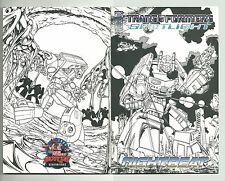 TRANSFORMERS: SPOTLIGHT #2 BOTCON 2006 VARIANT QUAD (4) NOT DOUBLE COVER VF/NM