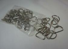 1 inch D Ring Metal Dee Rings Webbing Strapping Craft supplies new