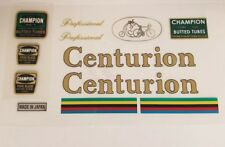 Sticker Decal Set for Vintage Centurion Professional Bicycle 12 piece set