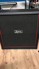Kustom KG412A-BK Gitarren Box Cabinet 4x12 Schräg Schwarz 120Watt Black Slant