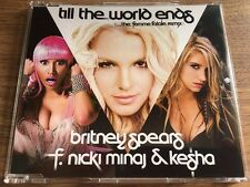 Britney Spears Till the world ends remix kesha cd single rare