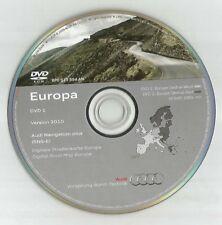 ORIGINALE AUDI RNS-E 2004-2009 Disco di navigazione DVD NAVIGATORE SATELLITARE MAPPA 2010 Regno Unito BEL fra SP