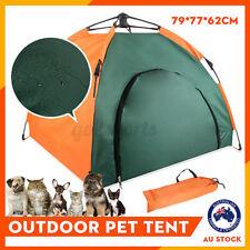 Portable Folding Pet Tent Dogs Cats Bed Indoor Outdoor Waterproof House Supplies
