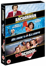 Will Ferrell Collection NEW SEALED DVD Blades Glory Old School Unseen Anchorman