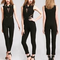 Romper Overall Pants Playsuit Womens Ladies Sexy Casual Cocktail Jumpsuits Party