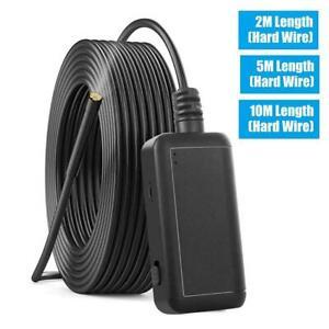 2-10m WIFI Endoscope 6 LEDs 5MP HD Borescope Inspection Camera IP67 Waterproof