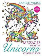 Messages from the Unicorns Coloring Book by Virtue Doreen