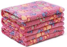 Soft Fluffy Premium Fleece Pet Blanket Flannel Throw For Dog Puppy Small