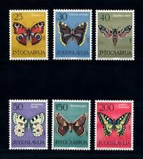 [71441] Yugoslavia 1964 Insects Butterflies  MNH