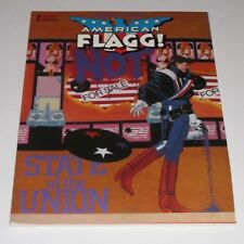 American Flagg State of the Union Graphic Novel NM Comic Book H. Chaykin 1 Print