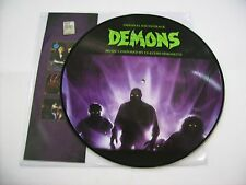 O.S.T. - DEMONS - LP PICTURE DISC 2016 NEW UNPLAYED - CLAUDIO SIMONETTI