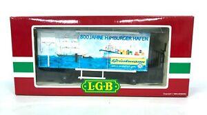 LGB 4028 HH Hamburger Harbor Refrigerated Boxcar G Scale