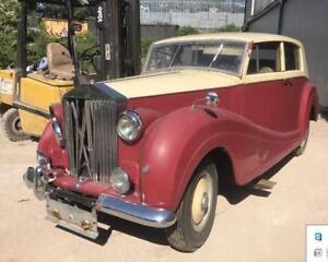 1946 rolls royce wraith speedo