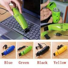 Mini USB Keyboard Cleaner Vacuum Dust Collector Car Laptop Computer Cleaning Kit
