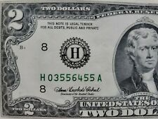 2003 US 2 Dollars crispy uncirculated Banknote
