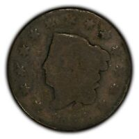 1821 1c Coronet Head Large Cent - Better Date Coin - SKU-Y2340