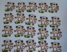 "20pcs. 3"" Baby Shower monkey Safari Decoration Foam"