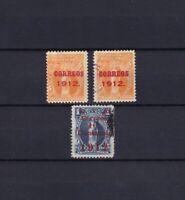 BOLIVIA 1912, Sc#100-101, MH/Used