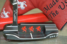 "HOT NEW PIRETTI PUTTER POTENZA BLACK ONYX 365G. ""THE RED BARON"" LIMITED SERIES"
