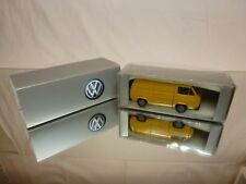 CONRAD 3066 VW VOLKSWAGEN TRANSPORTER VAN - YELLOW 1:43 - GOOD IN BOX