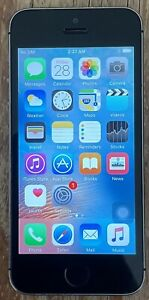 Apple iPhone 5s - 64GB - Silver (Unlocked) A1533 (GSM) Has A Bad Home Button