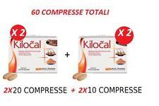 KILOCAL COMPRESSE- OFFERTA 2 CONFEZIONI 20CPR + 2CONFEZIONI 10CPR = TOTALE 60CPR