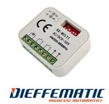Ricevitore Compatibile con Marantec 433,92 Mhz & 868,3Mhz D302, D304, D312, D323
