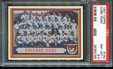 1957   Topps  Baseball    # 183    Chicage Cubs    NM-MT+    PSA 8.5