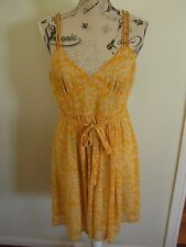 Ladies Forever 21 Yellow Dress Size M