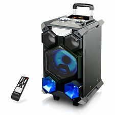 IBIZA SPLBOX350-PORT Festival Box Akku Lautsprecher DJ Bluetooth USB SD Karaoke
