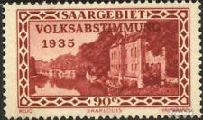Saarland 188 gestempelt 1934 Volksabstimmung