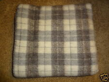 Brand New Wool Abbey Blanket~ 100% Wool~ Handcrafted