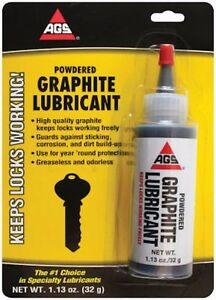 A G S Company MZ-5 Powdered Graphite Lubricant-1.13OZ POWDER GRAPHITE