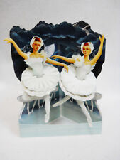 Swan Lake Ballerinas Greeting Card 3-D  Swing Card by Santoro Graphics 131