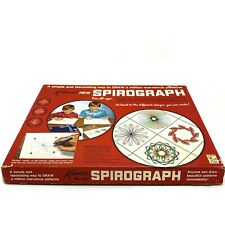 Vintage 1967 Kenner's New Spirograph Art Set Toy No. 401 Blue Tray