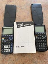 Texas Instruments Ti-83 Plus & Ti-86 Graphing Calculator College Math Algebra